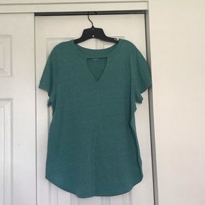 Heathered Teal Tee
